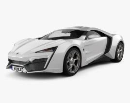 W Motors Lykan HyperSport 2012 3D model