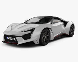 3D model of W Motors Fenyr SuperSport 2016