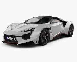 W Motors Fenyr SuperSport 2016 3D model