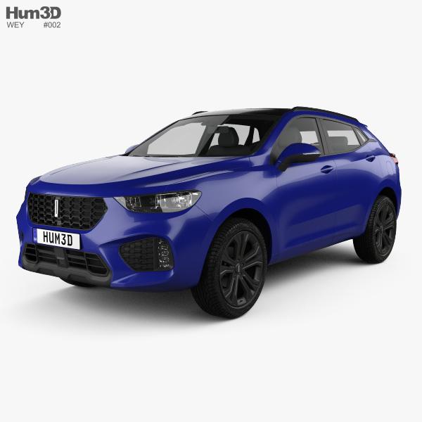 WEY VV5 2018 3D model