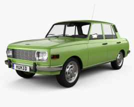 3D model of Wartburg 353 1966