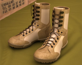 3D model of 5.11 RECON Desert Boots