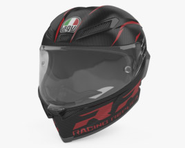3D model of AGV Pista GP RR ECE DOT Multi Racing Helmet