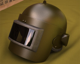 3D model of Altyn Helmet