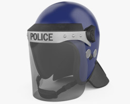 3D model of Argus APH05 Police Helmet