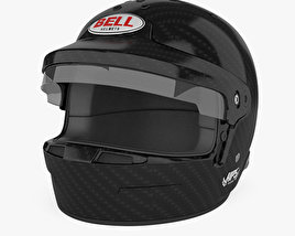 3D model of Bell HP5 Touring Helmet
