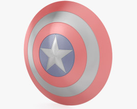 3D model of Captain America Shield