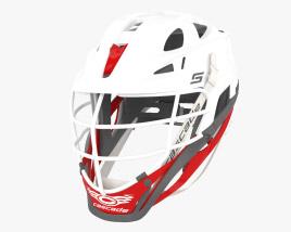 Cascade S Lacrosse Helmet 3D model