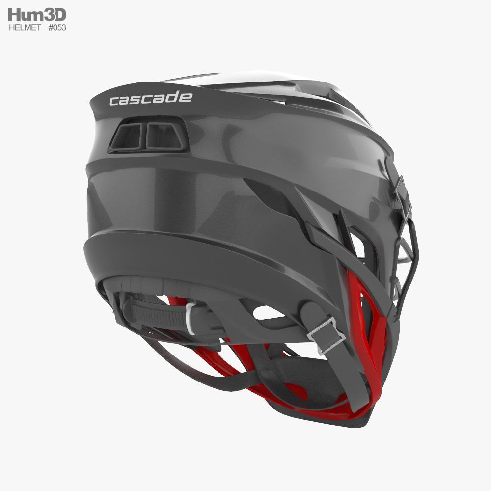 Cascade S Lacrosse Helmet 2021 3d model