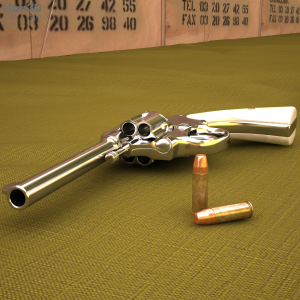 3D model of Colt Police Positive 5-inch