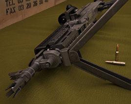 3D model of FN M240L