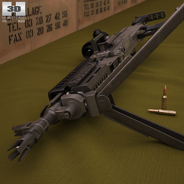 FN M240L 3D model