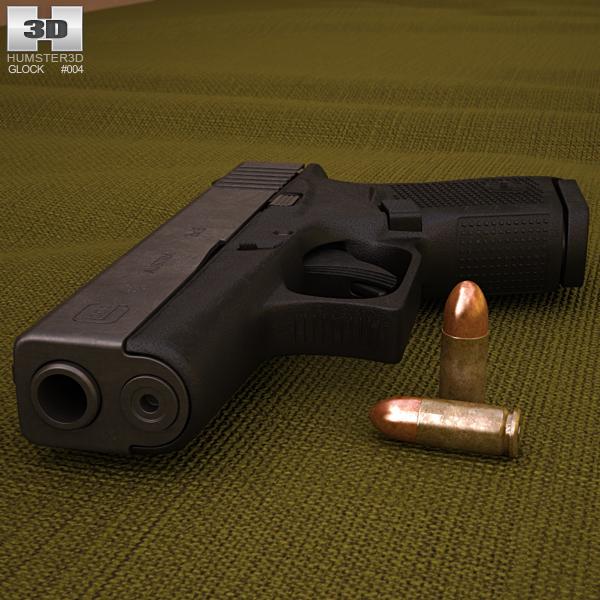 3D model of Glock 43