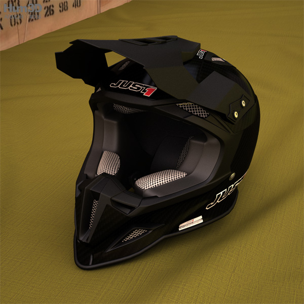 JUST1 J12 Unit Helmet 3D model