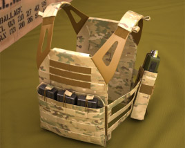 3D model of Jumpable Plate Carrier