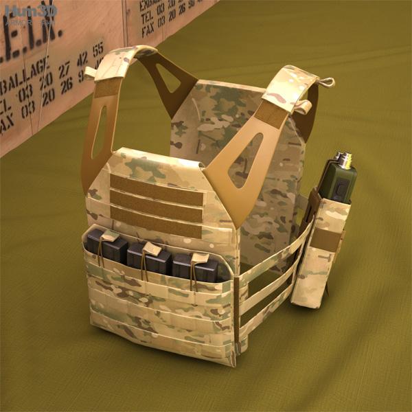 3D model of Jumpable Plate Carrier