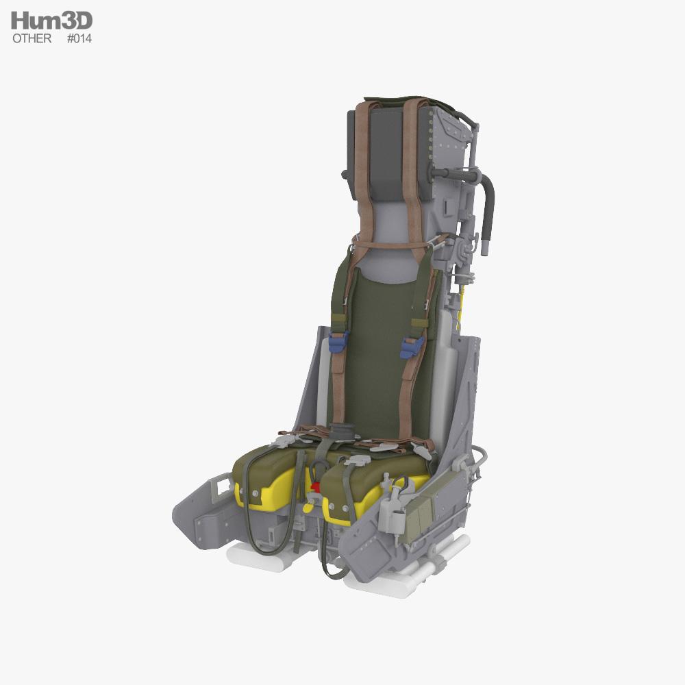 Martin-Baker Mk.10 ejection seat 3D model