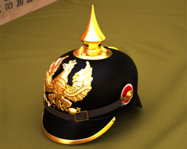 3D model of Pickelhaube