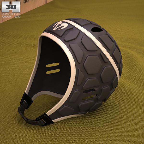 3D model of Ram Rugby Helmet