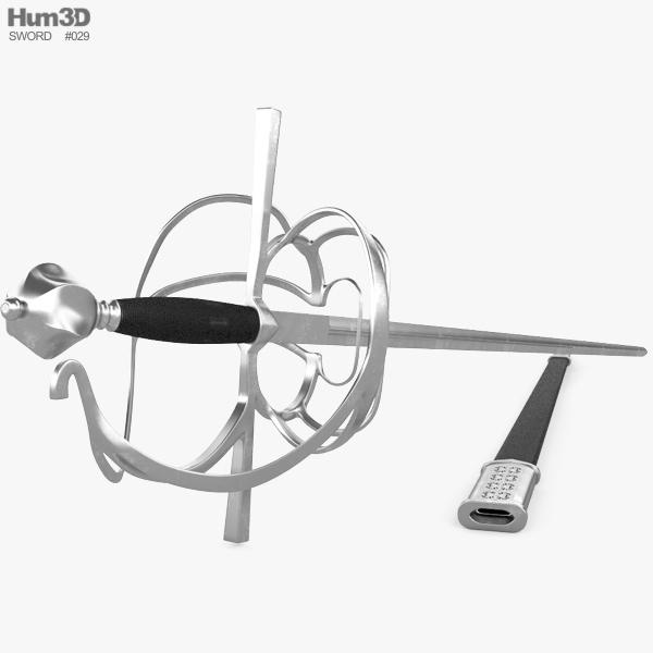 3D model of Rapier