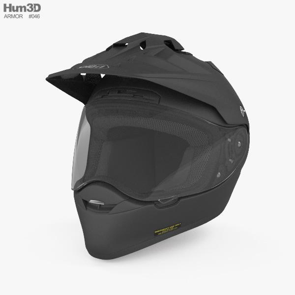 SHOEI Hornet ADV 3D model