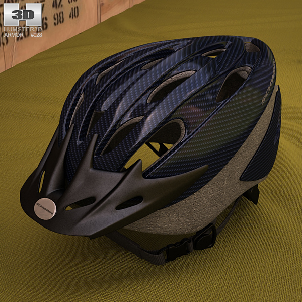 Schwinn Bicycle Helmet 3D model