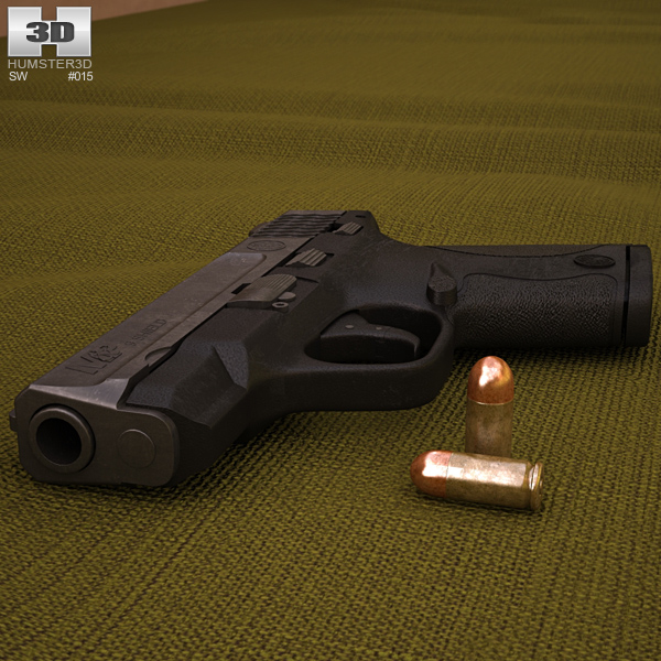Smith & Wesson M&P SHIELD 9 Modello 3D