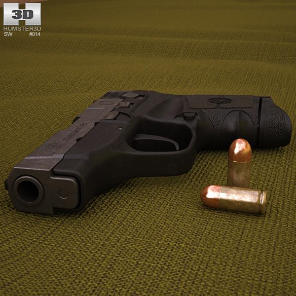 Smith & Wesson M&P BODYGUARD 380 3D model