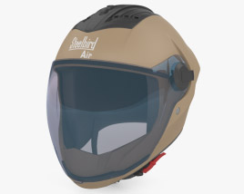 3D model of Steelbird SBA-2 Helmet