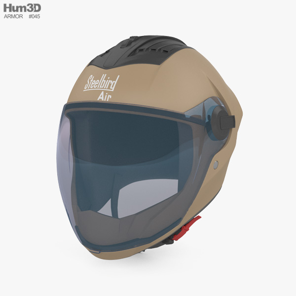 Steelbird SBA-2 Helmet 3D model