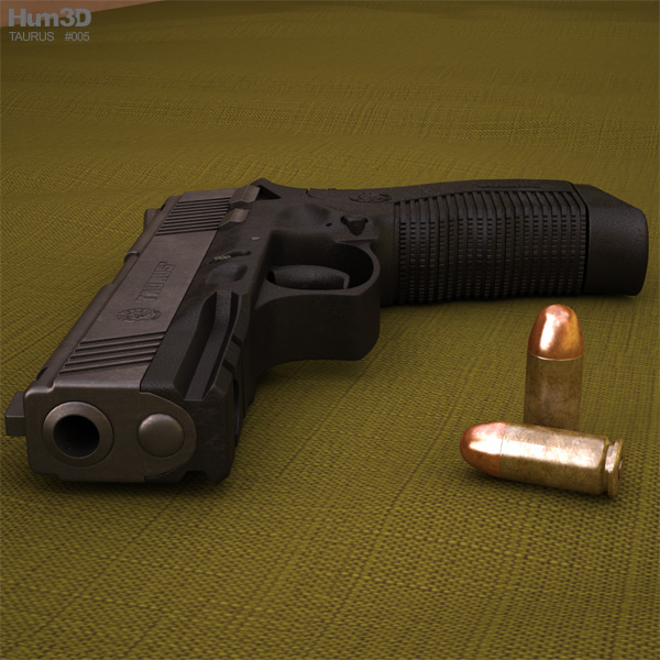 3D model of Taurus Model 845