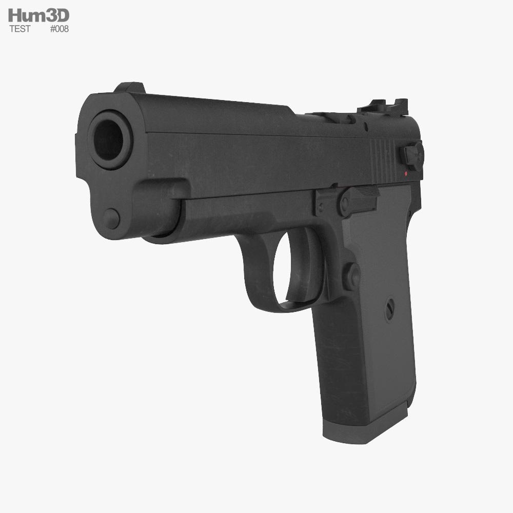 Test Pistol 3d model