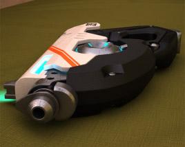 3D model of Tracer gun