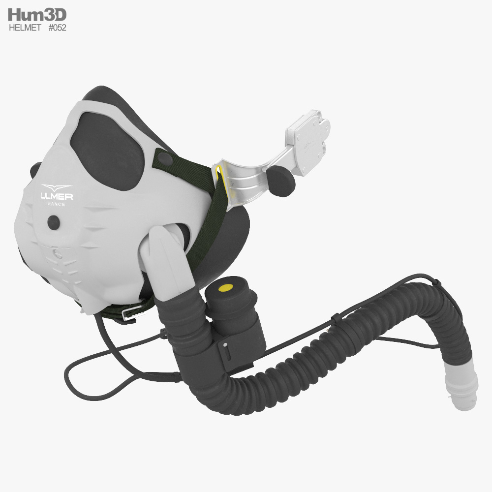 Ulmer UA21S Oxygen Mask 3D model