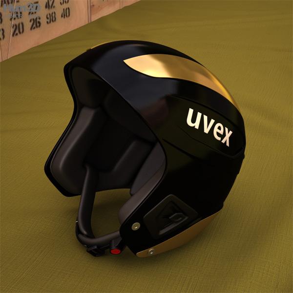 Uvex ski helmet 3D model