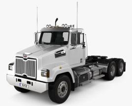 Western Star 4700 Set Forward Tractor Truck 2011 3D model