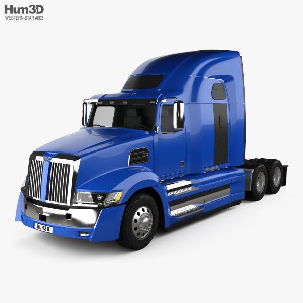 Western Star 5700XE Tractor Truck 2014 3D model