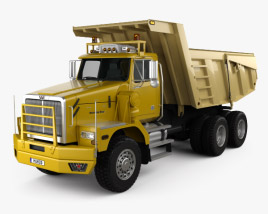 3D model of Western Star 6900 Dumper Truck 2008