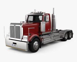 3D model of Western Star 4900 EX Tractor Truck 2008