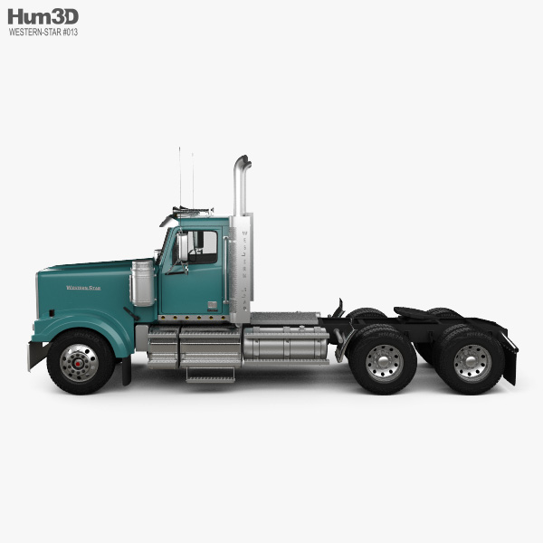 Western Star 4900 SF EX Day Cab Tractor Truck 2015 3D model