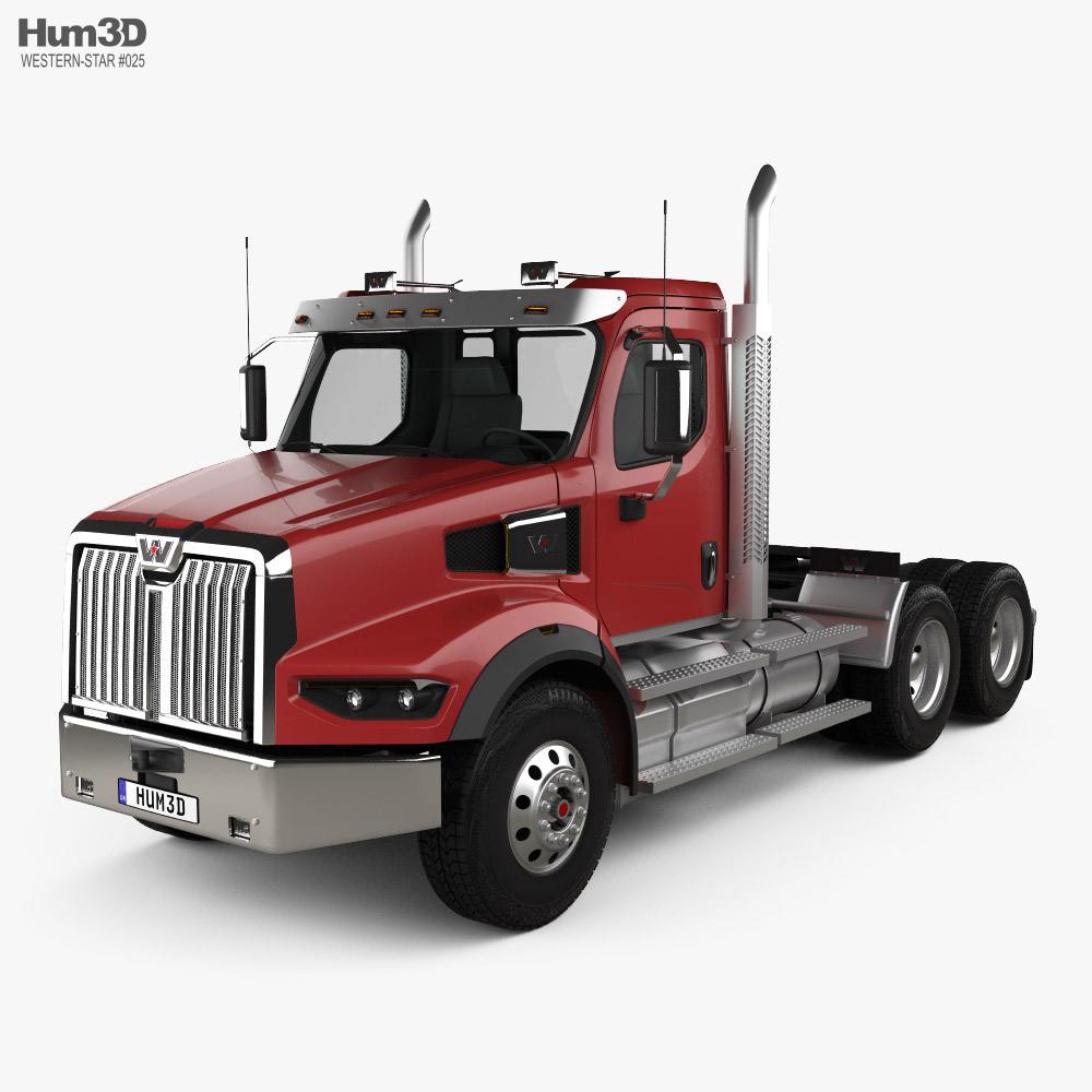 Western Star 49X SB Day Cab Tractor Truck 2020 3D model