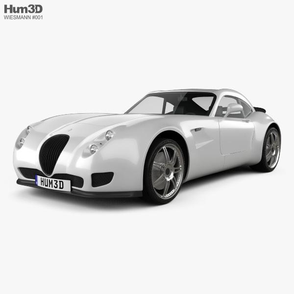 Wiesmann GT MF5 2011 3D model