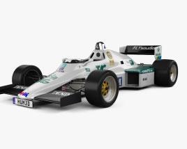 Williams FW08C F1 1983 Modelo 3D