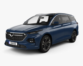 3D model of Wuling Victory 2020