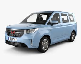 Wuling Hongguang Plus 2021 Modèle 3D