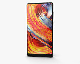 3D model of Xiaomi Mi Mix 2 Black