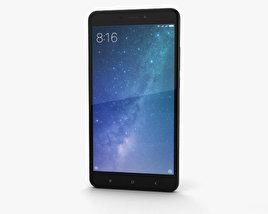 3D model of Xiaomi Mi Max 2 Matte Black