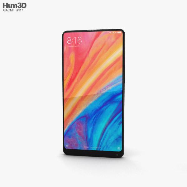 Xiaomi Mi Mix 2s Black 3D model