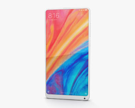 Xiaomi Mi Mix 2s White 3D model
