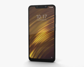 3D model of Xiaomi Pocophone F1 Armored Edition with Kevlar